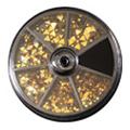 BEAUTY NAILER ネイルストーンバラエティパック SVP-12 トライアングルストーン ゴールド