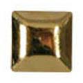 SHAREYDVA スタッズ メタルスクエア ゴールド 4mm/30P