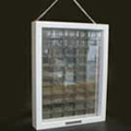 ONODESTYLE ディスプレイケースフレーム ホワイト 252x330x45mm (1マス32x20x25mm)