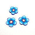 ネルパラ フラワーチップ ブルー 10個