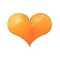 Naility! アクリルカラーパウダー マットオレンジ 3g
