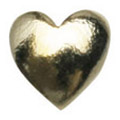 Jewelry-Nail LittlePretty LP-7013 スタッズハート ゴールドM 50P