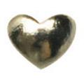 リトルプリティー Jewelry-Nail LP-7015 スタッズハート ゴールドS 50P