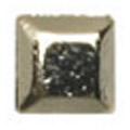 リトルプリティー Jewelry-Nail LP-8017 3Dスタッズスクエア ゴールド 1.5mm/50P