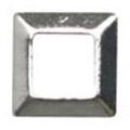 リトルプリティー Jewelry-Nail LP-8018 3Dスタッズスクエア中抜き シルバー 3mm/50P