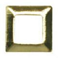 Jewelry-Nail LittlePretty LP-8018 3Dスタッズスクエア中抜き ゴールド 3mm/50P