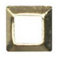 Jewelry-Nail LittlePretty LP-8019 3Dスタッズスクエア中抜き ゴールド 2.5mm/50P