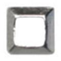 Jewelry-Nail LittlePretty LP-8021 3Dスタッズスクエア中抜き シルバー 1.5mm/50P