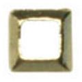 リトルプリティー Jewelry-Nail LP-8021 3Dスタッズスクエア中抜き ゴールド 1.5mm/50P