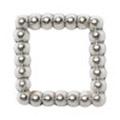 Pretty Nail Jewelry-Nail PN-0730 ブリオンスクエア シルバーS 15P