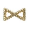 Pretty Nail Jewelry-Nail PN-0747 ブリオンリボン ゴールドS 15P