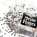 MysticFlakes メタリックシルバー サークル 1mm 0.5g