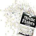 MysticFlakes メタリックシルバー サークル 2mm 0.5g