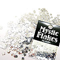 MysticFlakes メタリックシルバー スター 0.5g