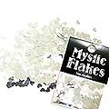 MysticFlakes メタリックシルバー ハート 0.5g