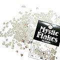MysticFlakes メタリックシルバー ミニハート 0.5g