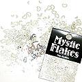 MysticFlakes メタリックシルバー ハート&ムーン 0.5g