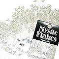 MysticFlakes メタリックシルバー バタフライ 0.5g