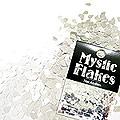 MysticFlakes メタリックシルバー ティアドロップ 0.5g