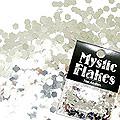 MysticFlakes メタリックシルバー ヘキサゴン 2.5mm 0.5g
