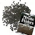 MysticFlakes メタリックブラック サークル 2mm 0.5g