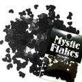 MysticFlakes メタリックブラック ハート 0.5g