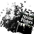 MysticFlakes メタリックブラック ミニハート 0.5g