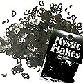 MysticFlakes メタリックブラック ハート&ムーン 0.5g