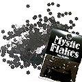 MysticFlakes メタリックブラック フラワー 0.5g