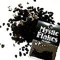 MysticFlakes メタリックブラック ティアドロップ 0.5g