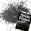 MysticFlakes メタリックブラック ヘキサゴン 1mm 0.5g