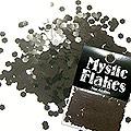 MysticFlakes メタリックブラック ヘキサゴン 2.5mm 0.5g