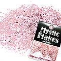 MysticFlakes メタリックLtピンク サークル 1mm 0.5g