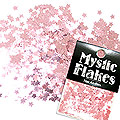 MysticFlakes メタリックLtピンク スター 0.5g