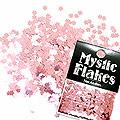 MysticFlakes メタリックLtピンク フラワー 0.5g