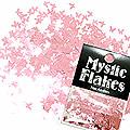 MysticFlakes メタリックLtピンク バタフライ 0.5g