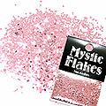 MysticFlakes メタリックLtピンク ヘキサゴン 1mm 0.5g