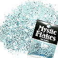 MysticFlakes メタリックLtブルー サークル 1mm 0.5g