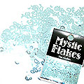 MysticFlakes メタリックLtブルー ハート&ムーン 0.5g