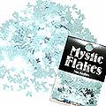 MysticFlakes メタリックLtブルー バタフライ 0.5g
