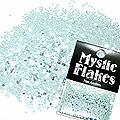 MysticFlakes メタリックLtブルー ヘキサゴン 1mm 0.5g