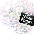 MysticFlakes オーロラホワイト スター 0.5g