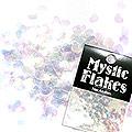 MysticFlakes オーロラホワイト ハート 0.5g