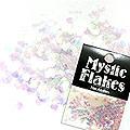 MysticFlakes オーロラホワイト ミニハート 0.5g