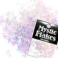 MysticFlakes オーロラホワイト バタフライ 0.5g