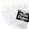 MysticFlakes オーロラホワイト ヘキサゴン 1mm 0.5g