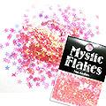 MysticFlakes オーロラピンク スター 0.5g