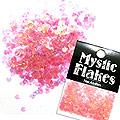 MysticFlakes オーロラピンク ミニハート 0.5g
