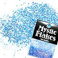 MysticFlakes オーロラブルー サークル 1mm 0.5g
