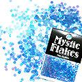 MysticFlakes オーロラブルー サークル 2mm 0.5g